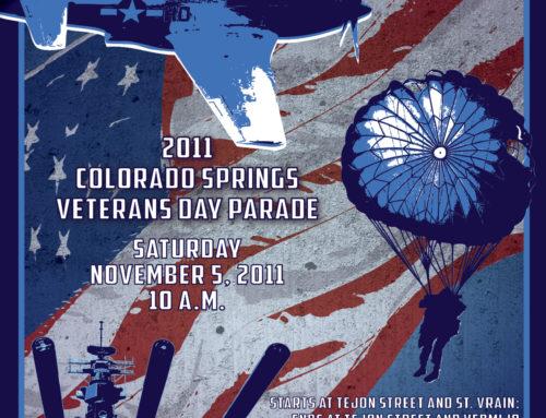 Veterans Day Parade Poster